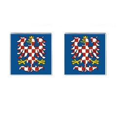 Flag of Moravia Cufflinks (Square)