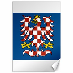 Flag of Moravia Canvas 12  x 18