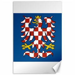 Flag of Moravia Canvas 24  x 36
