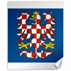 Flag of Moravia Canvas 11  x 14