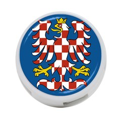 Flag of Moravia 4-Port USB Hub (One Side)