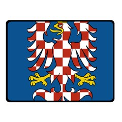 Flag of Moravia Fleece Blanket (Small)