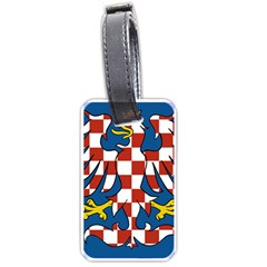 Flag of Moravia Luggage Tags (Two Sides)