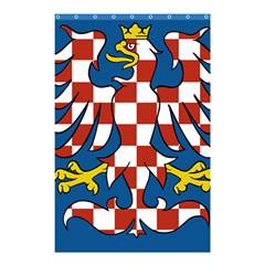 Flag of Moravia Shower Curtain 48  x 72  (Small)