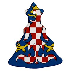 Flag of Moravia Christmas Tree Ornament (Two Sides)