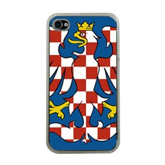 Flag of Moravia Apple iPhone 4 Case (Clear)