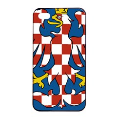 Flag of Moravia Apple iPhone 4/4s Seamless Case (Black)