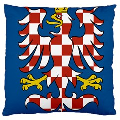 Flag of Moravia Large Cushion Case (Two Sides)