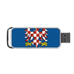 Flag of Moravia Portable USB Flash (Two Sides)