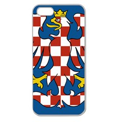 Flag of Moravia Apple Seamless iPhone 5 Case (Clear)