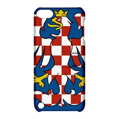 Flag of Moravia Apple iPod Touch 5 Hardshell Case with Stand