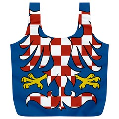 Flag of Moravia Full Print Recycle Bags (L)