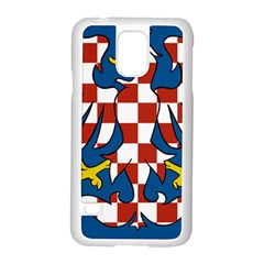 Flag of Moravia Samsung Galaxy S5 Case (White)