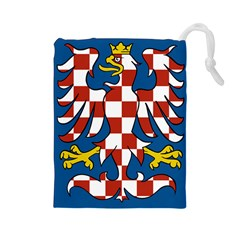 Flag of Moravia Drawstring Pouches (Large)