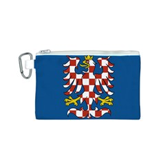 Flag of Moravia Canvas Cosmetic Bag (S)