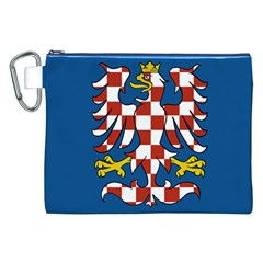 Flag of Moravia Canvas Cosmetic Bag (XXL)