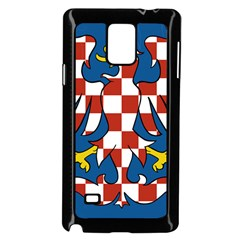 Flag of Moravia Samsung Galaxy Note 4 Case (Black)