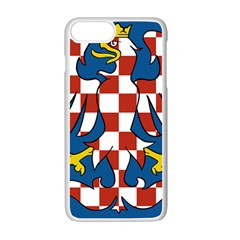 Flag of Moravia Apple iPhone 7 Plus White Seamless Case