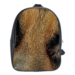 German Shepherd Eyes School Bags(Large)