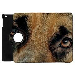 German Shepherd Eyes Apple iPad Mini Flip 360 Case