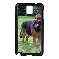 German Shepherd Full Samsung Galaxy Note 3 N9005 Case (Black)