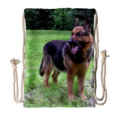German Shepherd Full Drawstring Bag (Large)