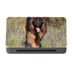 German Shepherd In Motion Memory Card Reader with CF