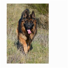 German Shepherd In Motion Large Garden Flag (Two Sides)