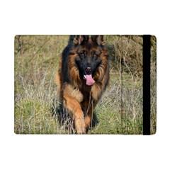 German Shepherd In Motion Apple iPad Mini Flip Case