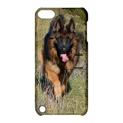 German Shepherd In Motion Apple iPod Touch 5 Hardshell Case with Stand