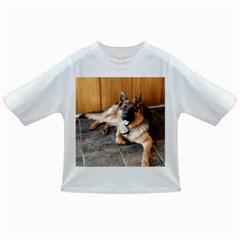 German Shepherd Laying 2 Infant/Toddler T-Shirts