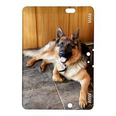 German Shepherd Laying 2 Kindle Fire HDX 8.9  Hardshell Case