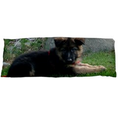 German Shepherd Puppy Laying 2 Body Pillow Case (Dakimakura)