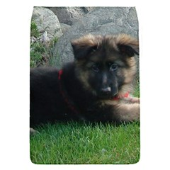 German Shepherd Puppy Laying 2 Flap Covers (S)