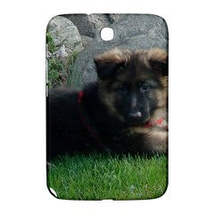 German Shepherd Puppy Laying 2 Samsung Galaxy Note 8.0 N5100 Hardshell Case