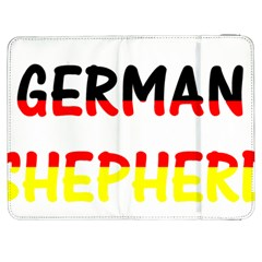 German Shepherd Name In Flag Samsung Galaxy Tab 7  P1000 Flip Case