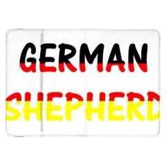 German Shepherd Name In Flag Samsung Galaxy Tab 8.9  P7300 Flip Case