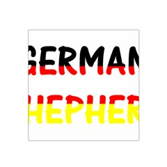 German Shepherd Name In Flag Satin Bandana Scarf