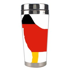 German Shepherd Flag Silo Germany Flag Stainless Steel Travel Tumblers