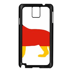 German Shepherd Flag Silo Germany Flag Samsung Galaxy Note 3 N9005 Case (Black)