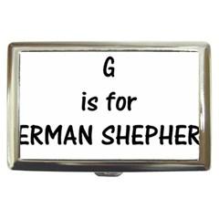 G Is For German Shepherd Cigarette Money Cases