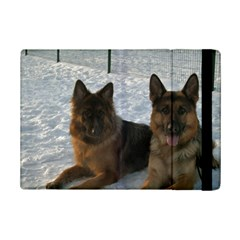 2 German Shepherds iPad Mini 2 Flip Cases