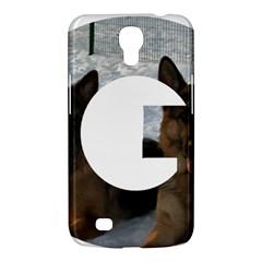2 German Shepherds In Letter G Samsung Galaxy Mega 6.3  I9200 Hardshell Case