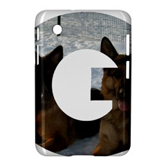 2 German Shepherds In Letter G Samsung Galaxy Tab 2 (7 ) P3100 Hardshell Case