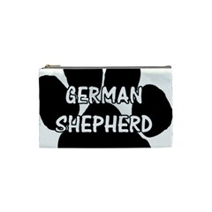 German Shepherd Paw Name Cosmetic Bag (Small)