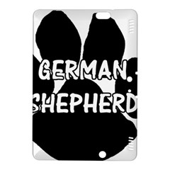 German Shepherd Paw Name Kindle Fire HDX 8.9  Hardshell Case