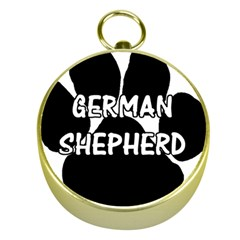 German Shepherd Paw Name Gold Compasses