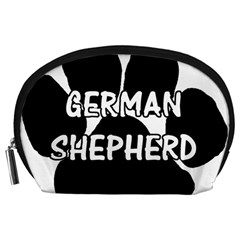 German Shepherd Paw Name Accessory Pouches (Large)