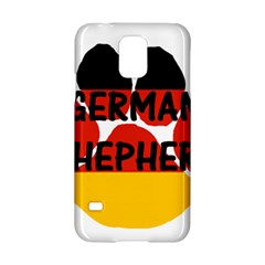 German Shepherd Name Paw Germany Flag Paw Samsung Galaxy S5 Hardshell Case