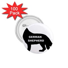 German Shepherd Name Silo 1.75  Buttons (100 pack)